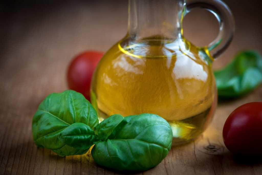 Store Herbs in Olive Oil